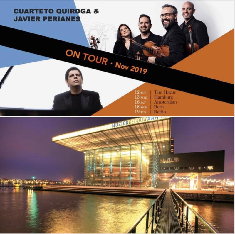 Cuarteto-Quiroga-Muziekgebouw aan het IJ